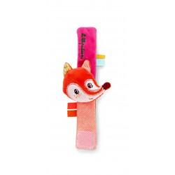 Pulsera sonajero Alice, la raposa