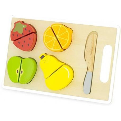 Tabla para cortar 4 frutas