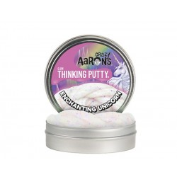 Lata de plastilina de 10 cm - Glows - Enchanting Unicorn