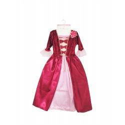 Disfraz de reina de Borgoña (5-6 años)