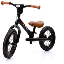 Bicicleta de equilibrio Trybike de acero negra