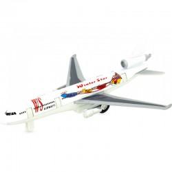Avión reactivo blanco