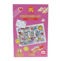 Kit de postales amigos (Postcard Kit Friends)