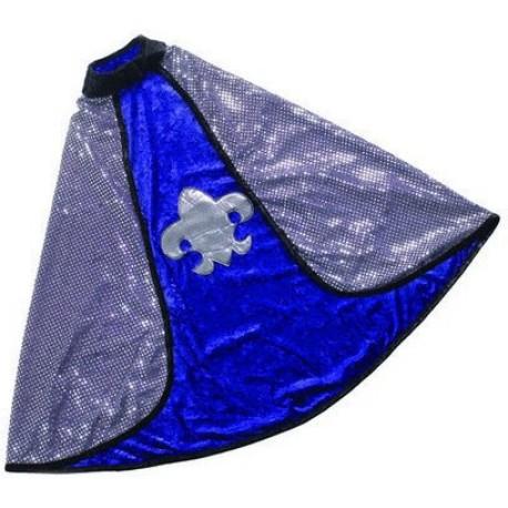 Capa reversible de Caballero/Rey (4-7 años)