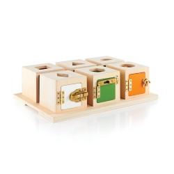 Cajas de cerraduras y formas