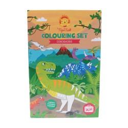 Set colorea dinosaurios (Colouring Sets Dinosaur)