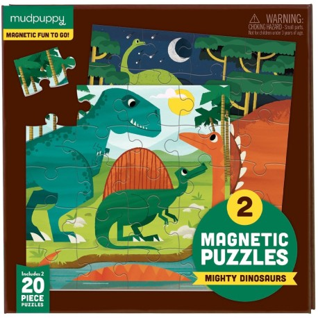 Puzle magnético de dinosaurios