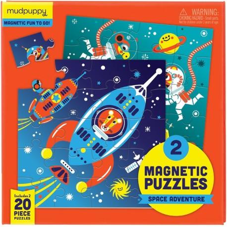 Puzle magnético espacio