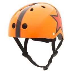 """Casco """"Naranja estrella"""" talla S"""