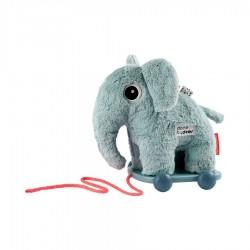Elphee, el elefante azul de arrastre