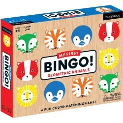 "Mi primer Bingo ""Animales geométricos"""