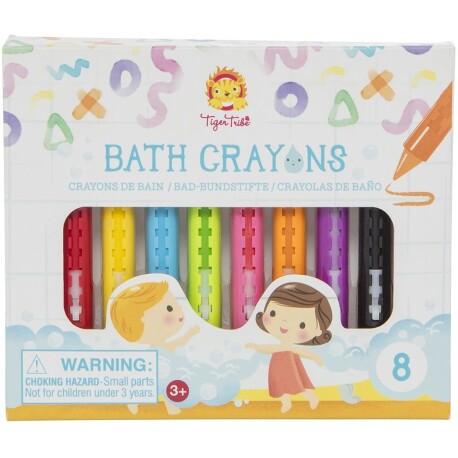 Set de 8 crayons para el baño