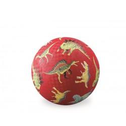 Pelota de 13 cm Dinosaurios (Rojo)