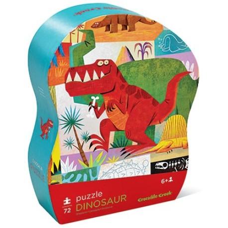 Puzle de 72 piezas de dinosaurios