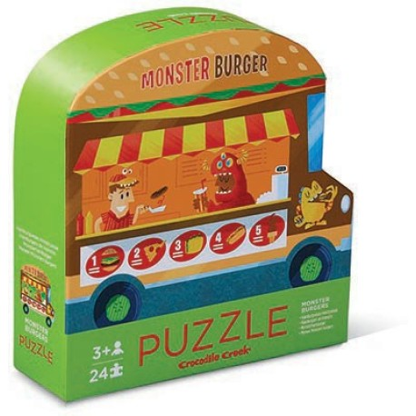 Pack de 2 puzles de 24 piezas Food Truck