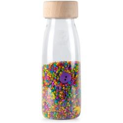 Botella sensorial con sonido (botones)