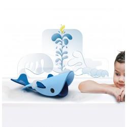 """Puzle 3D de baño de 3 piezas """"La ballena en el océano"""""""