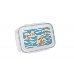 Fiambrera con 3 compartimentos para la comida Baby Otter