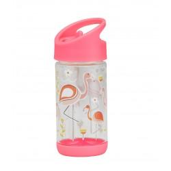 Botella infantil de Tritán Flamingo