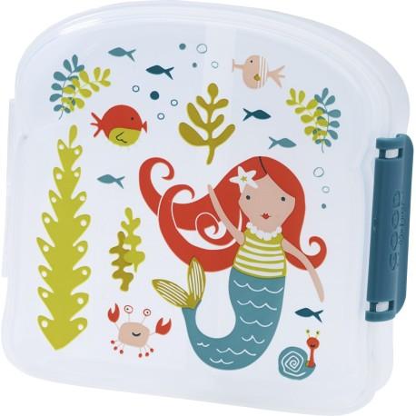 Fiambrera con 2 compartimentos Isla the mermaid