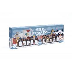 Puzle 10 Pinguinos