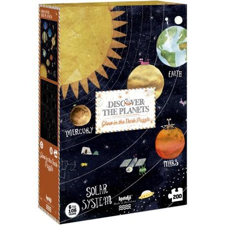 Puzle Descubre los planetas - iwannatoy.com