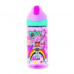 Botella infantil de Tritán con caña Super Heroína
