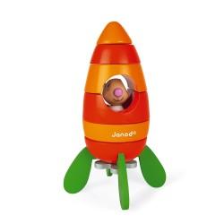 Cohete zanahoria magnético