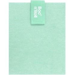 Porta bocadillos Boc'n'Roll square Azul Claro Eco