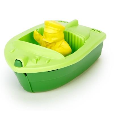 Lancha deportiva verde de plástico eco