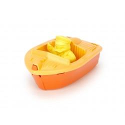 Lancha deportiva naranja de plástico eco