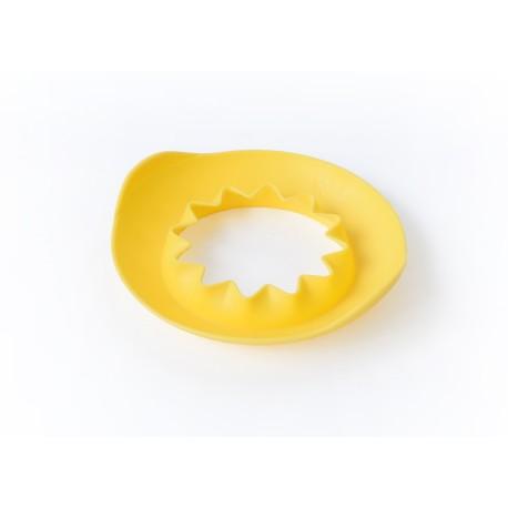 Molde de playa sol amarillo