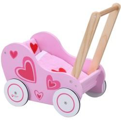 Caminador-Cochecito de madera