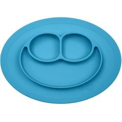 Vajilla infantil de silicona The Mini Mat azul