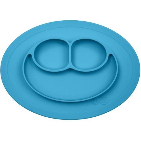 Vajilla de silicona infantil The Mini Mat azul