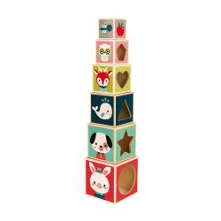 Cubos apilables Baby Forest