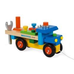 Camión de bricolaje de madera
