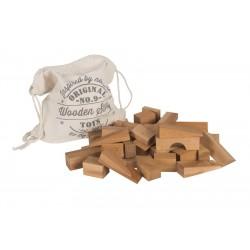 50 Bloques de construcción XL de madera