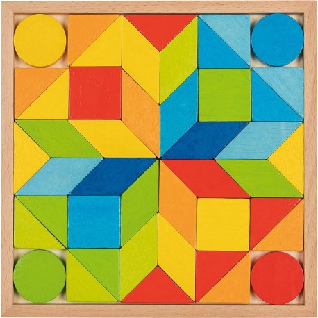 Juego De Arcoíris Mosaico De Madera Juego Mosaico gy67Ybf