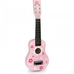 Guitarra de flores