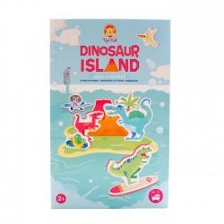 Juego de baño la isla de los dinosaurios