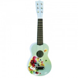 Guitarra clásica bosque de madera