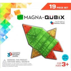 MAGNA-QUBIX de 19 piezas de construcción magnética