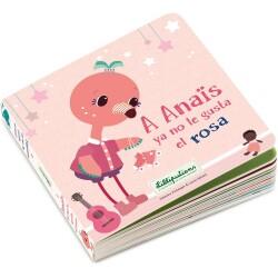 Libro A Anaïs ya no le gusta el rosa