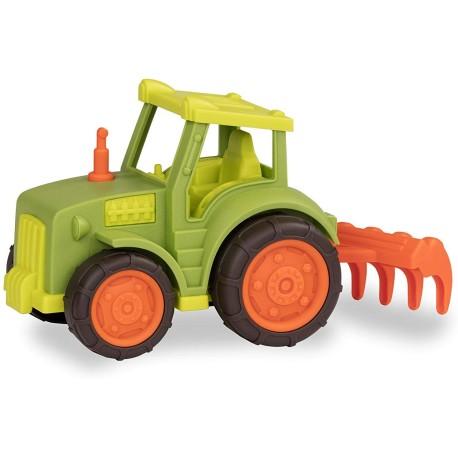 Tractor con arado
