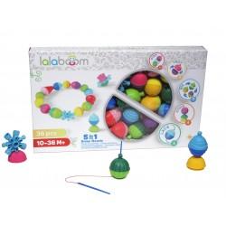 Set de 36 piezas de perlas y accesorios Lalaboom