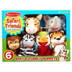 Marionetas de mano del Safari