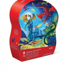 Puzle de 72 piezas las aventuras de los dragones