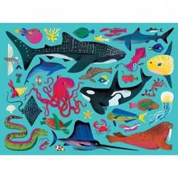 Puzle de 500 piezas Animales acuáticos