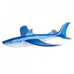 Tiburón avioneta brillante